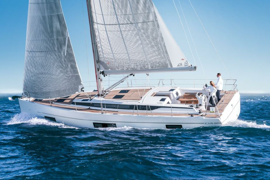 Sailing yacht Bavaria 45 for private charters in Cyprus