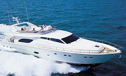 Luxury yacht Ferretty 810 in Cyprus