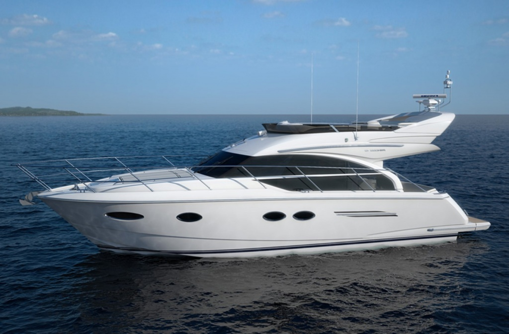 Yacht Princess 43 in Cyprus