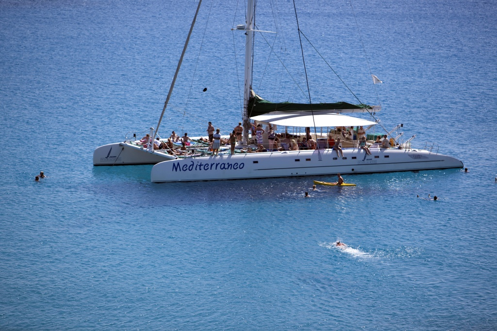 Catamaran Mediterraneo for hire in Cyprus