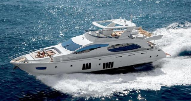 Yacht Princess 88 for rent in Cyprus