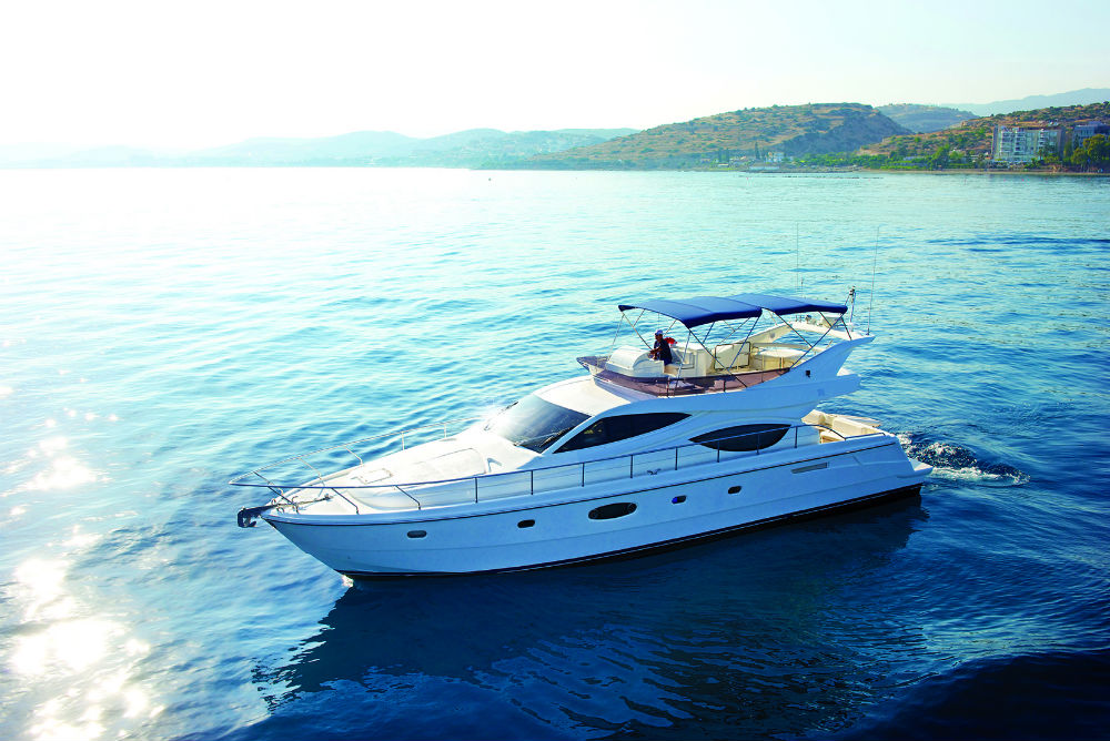 Yacht Ferett1 55 for rent in Cyprus