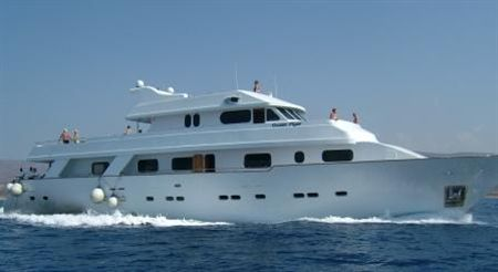 Yacht Ocean Flyer in Cyprus