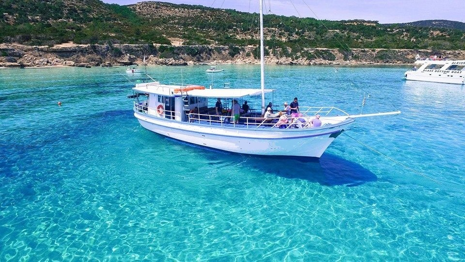 Traditional Greek yacht for hire in Latchi