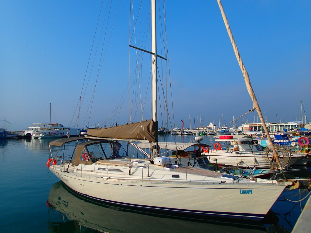 Sailing Yacht Zircon in Limassol