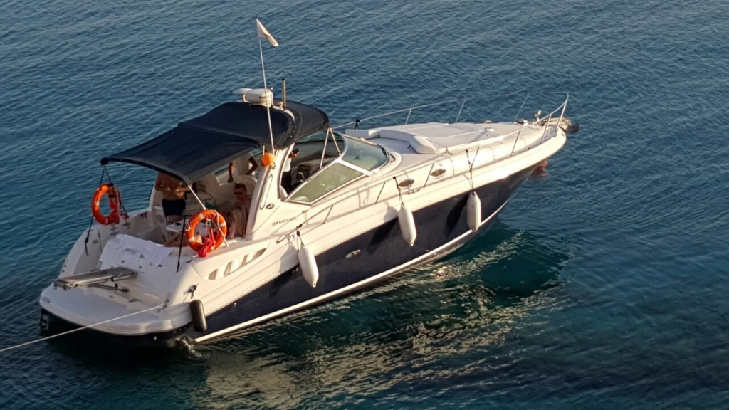 Yacht Sea Ray 375 for hire in Ayia Napa