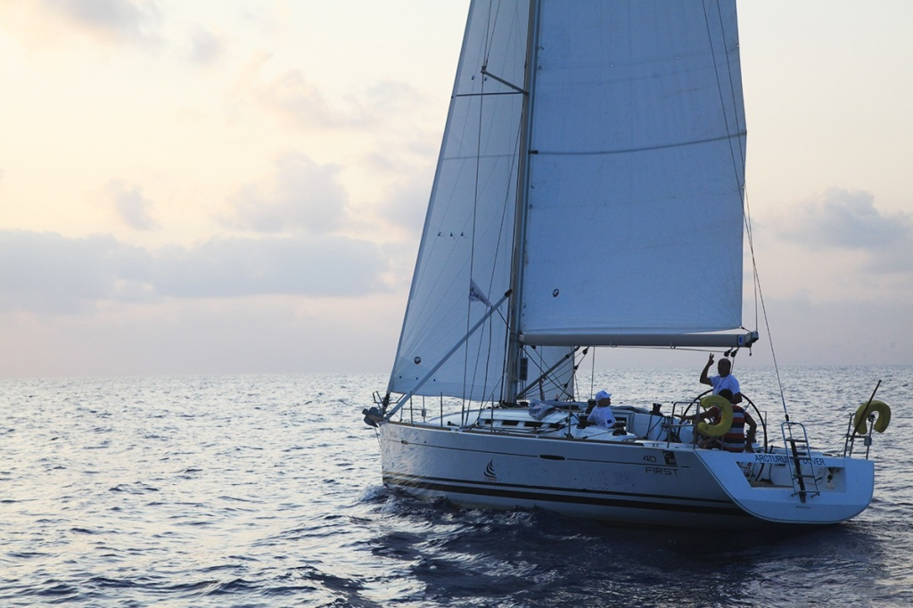Sailing yacht Beneteau for hire in Paphos