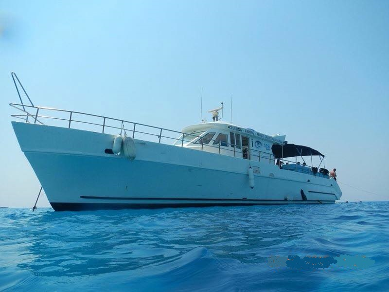 Fishing yacht Amorosa